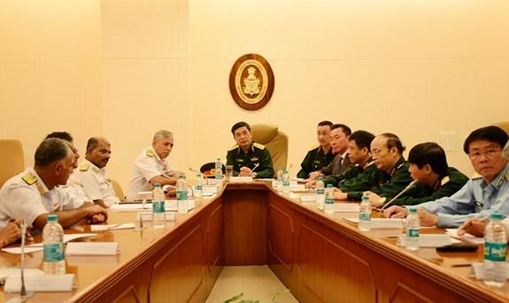 Poursuite des activites du general Phan Van Giang en Inde hinh anh 1