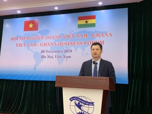 Renforcement des relations commerciales Vietnam-Ghana hinh anh 1