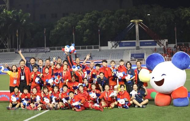 SEA Games 30: la vice-presidente adresse ses felicitations a la delegation vietnamienne hinh anh 1