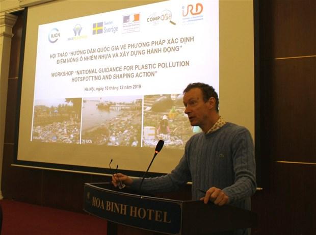 Colloque sur l'identification des points chauds de la pollution par les plastiques au Vietnam hinh anh 1