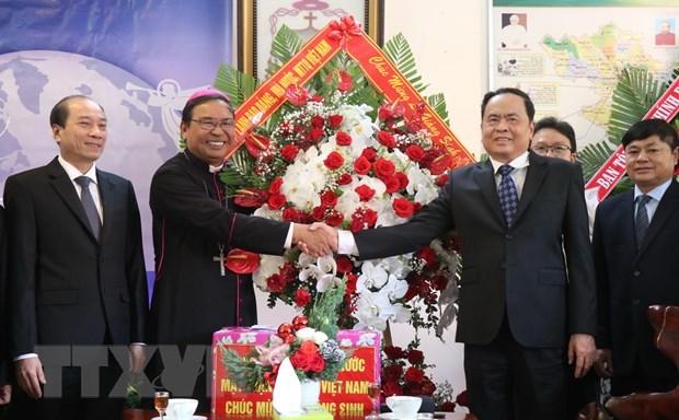 Vœux de Noel du FPV aux catholiques et protestants de Dak Lak hinh anh 1
