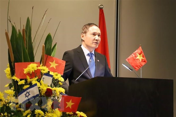 Le 75e anniversaire de l'Armee populaire du Vietnam celebre en Israel et en R. de Coree hinh anh 1