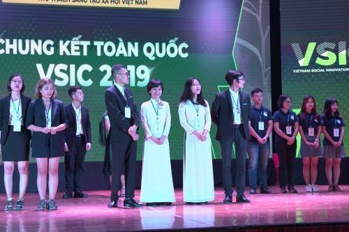La phase finale du Vietnam Social Innovation Challenge (VSIC) 2019 hinh anh 1