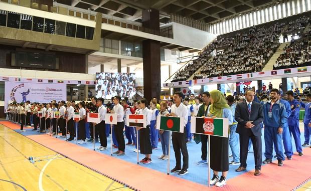 Le Vietnam remporte le titre du 6e Championnat du monde de Vovinam hinh anh 1
