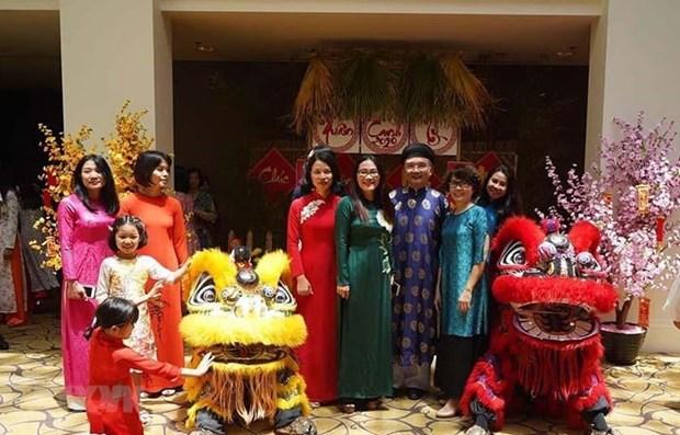 Des Vietnamiens en Australie celebrent le Nouvel An lunaire 2020 hinh anh 1