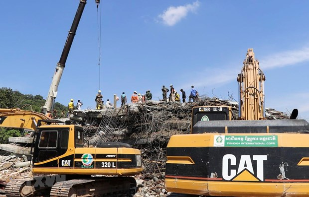 36 morts dans l'effondrement d'un immeuble a Kep hinh anh 1