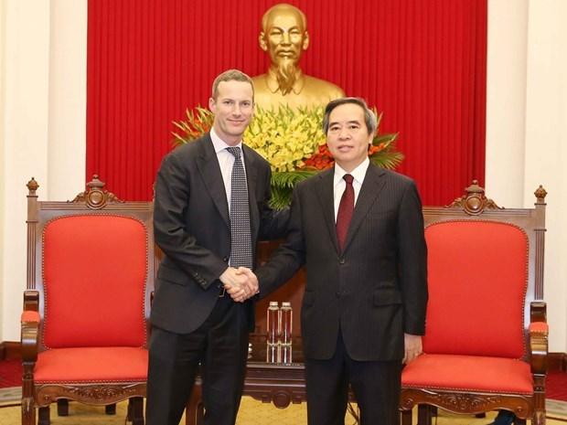 Le Vietnam soutient toujours les investisseurs americains hinh anh 1