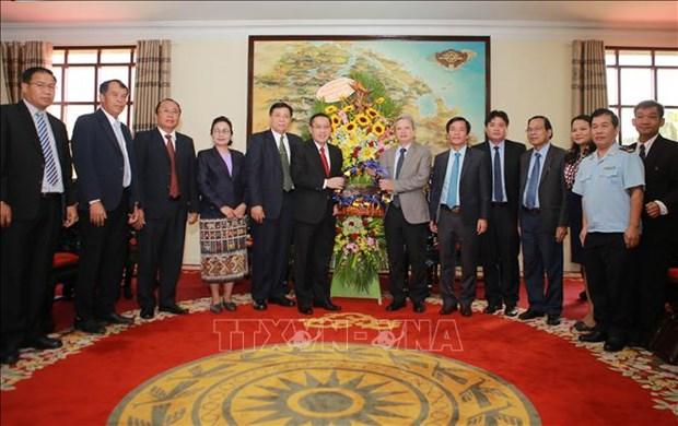Les provinces de Thua Thien-Hue et de Savannakhet (Laos) renforcent leur cooperation hinh anh 1