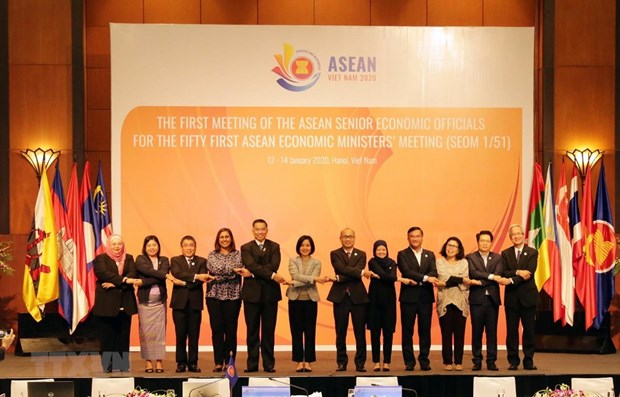 Trois orientations prioritaires pour le pilier economique de l'ASEAN en 2020 hinh anh 1