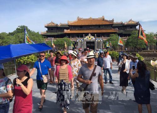 Plusieurs activites reproduisant le Tet traditionnel de la Cour royale de Hue hinh anh 1