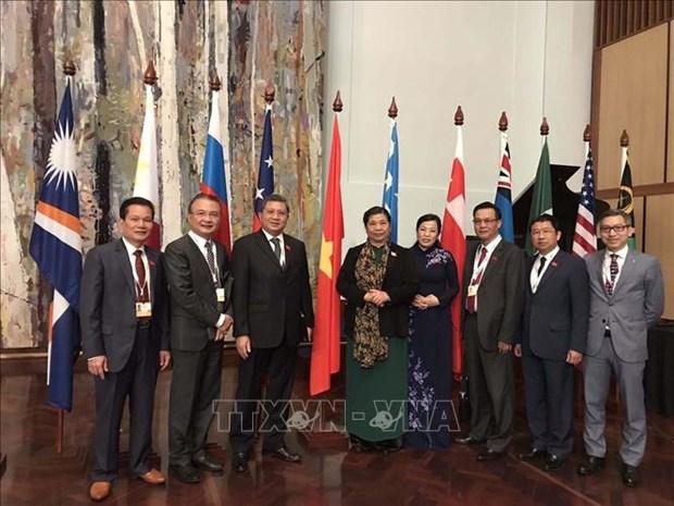 Le Vietnam participe activement au succes de l'APPF 28 hinh anh 1