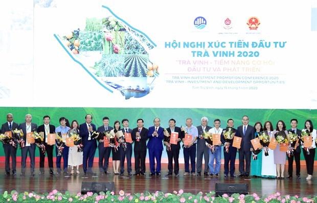 Conference sur la promotion de l'investissement a Tra Vinh hinh anh 1