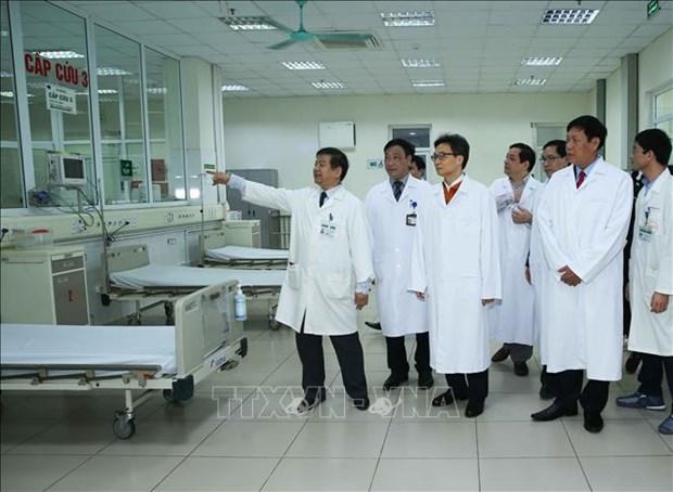 Telegramme du Premier ministre sur la prevention contre la maladie respiratoire aigue grave hinh anh 1