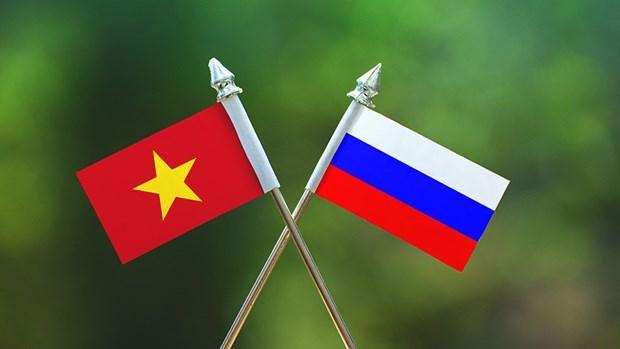 Conference de presse en l'honneur du 70e anniversaire des relations diplomatiques Vietnam-Russie hinh anh 1