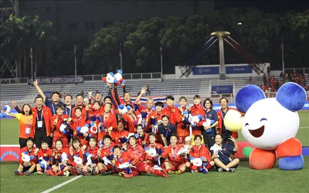 L'equipe de football feminine vietnamienne participe au 3e tour des eliminatoires pour JO de Tokyo hinh anh 1