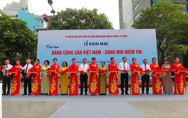 Diverses activites celebrant les 90 ans du Parti communiste du Vietnam hinh anh 1