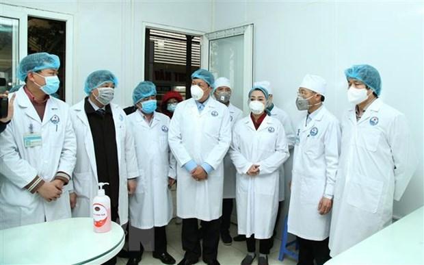 Nouveau coronavirus : le ministere de la Sante travaille avec Vinh Phuc hinh anh 1