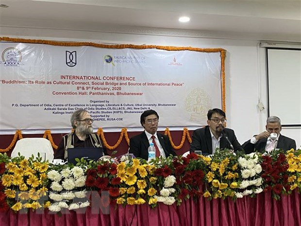 Le Vietnam participe au colloque international sur le bouddhisme en Inde hinh anh 1