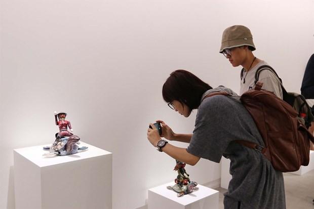 Ouverture de l'exposition