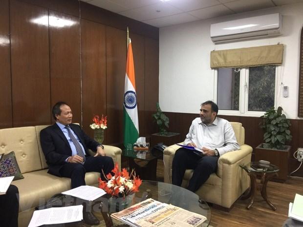 Le Vietnam et l'Inde renforcent leur cooperation dans le commerce hinh anh 1
