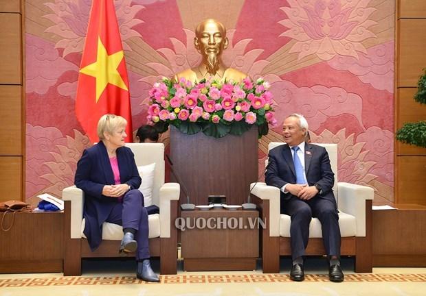 Le Vietnam prend en haute consideration son partenariat strategique avec l'Allemagne hinh anh 1