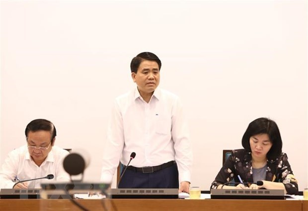 Hanoi evalue les impacts du COVID-19 sur sa situation socio-economique hinh anh 1