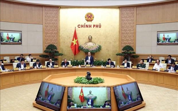 Reunion periodique de fevrier du gouvernement hinh anh 1