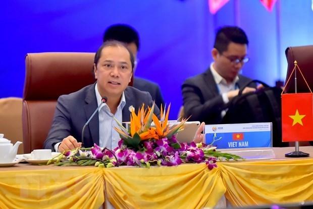 La reunion consultative conjointe de l'ASEAN a Da Nang hinh anh 1
