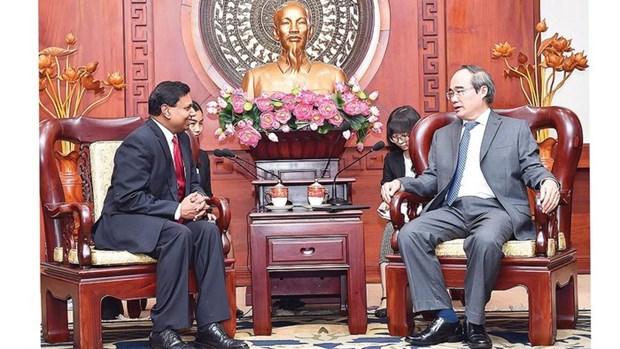 Ho Chi Minh-Ville cree des conditions optimales aux entreprises sri-lankaises hinh anh 1