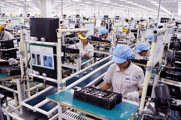 Telephones et composants : 6,895 milliards de dollars d'exportations en deux mois hinh anh 1