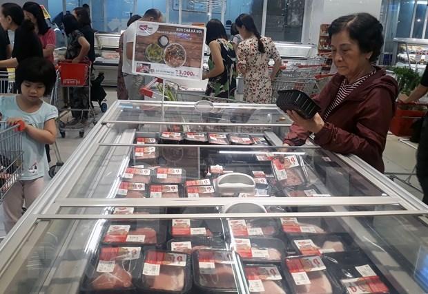 Le Vietnam importe pres de 25.300 tonnes de viande de porc depuis le debut de l'annee hinh anh 1