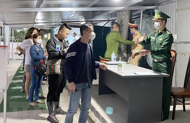 Quang Ninh et Binh Thuan mettent en œuvre des mesures de prevention de la pandemie de COVID-19 hinh anh 1