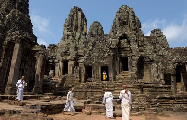 COVID-19: le nombre de touristes a Siem Reap (Cambodge) est tombe a presque zero hinh anh 1
