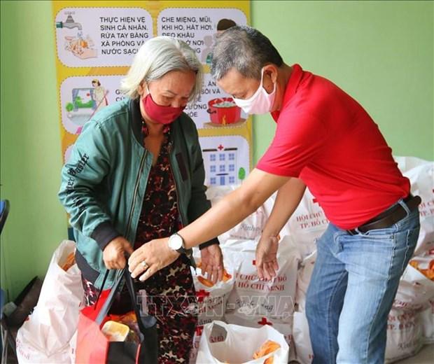 Ho Chi Minh-Ville aide les personnes touchees par le COVID-19 a surmonter les difficultes hinh anh 1