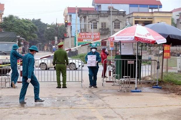 Hanoi se concentre sur l'examen des personnes liees a la zone epidemique a Ha Loi hinh anh 1