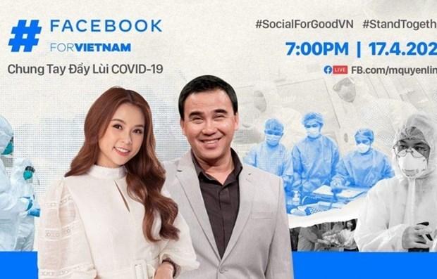 Facebook se joint a la lutte contre le COVID-19 hinh anh 1