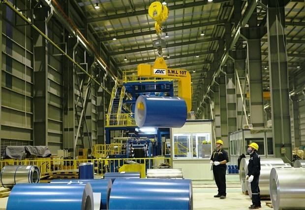 Les exportations d'acier de construction de Hoa Phat ont augmente de 17% en avril hinh anh 1