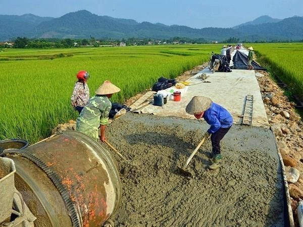 Hanoi prevoit d'avoir 10 districts repondant aux normes de la Nouvelle ruralite hinh anh 1