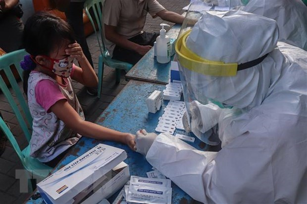L'Indonesie et les Philippines enregistrent des centaines de nouveaux cas de COVID-19 hinh anh 1
