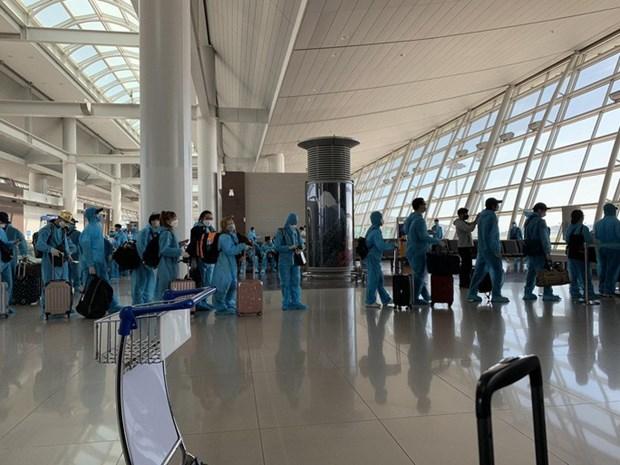 COVID-19 : Rapatriement de pres de 340 citoyens vietnamiens en Republique de Coree hinh anh 1