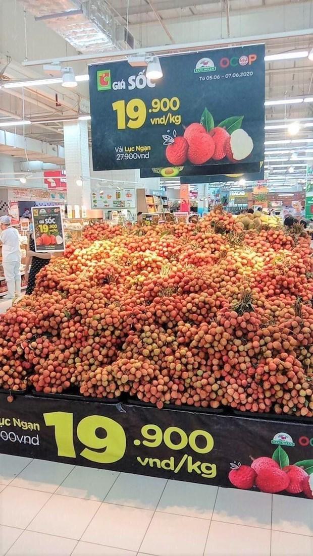 Le thailandais Central Retail commercialisera 1.000 tonnes de litchis de Bac Giang hinh anh 1