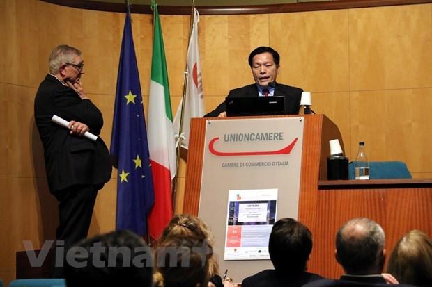 L'EVFTA apportera une vague d'IDE de haute qualite de l'UE au Vietnam hinh anh 1