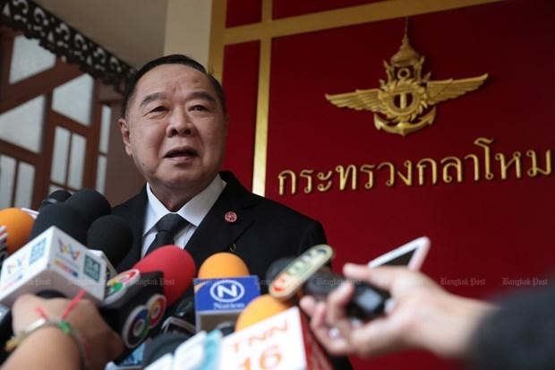 Thailande : le vice-PM Prawit Wongsuwon prend temporairement la direction du Parti au pouvoir hinh anh 1