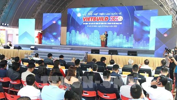 Plus de 400 entreprises participent a l'exposition Vietbuild 2020 hinh anh 1