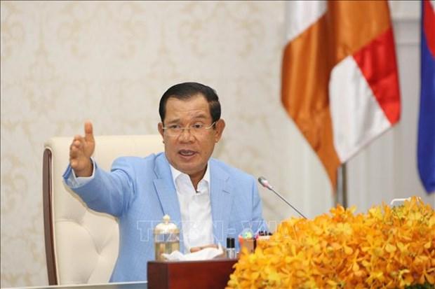 Le PM cambodgien souligne la necessite d'accelerer le commerce regional hinh anh 1