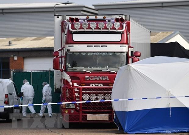 Un suspect admet une infraction dans l'affaire de 39 Vietnamiens retrouves morts au Royaume-Uni hinh anh 1