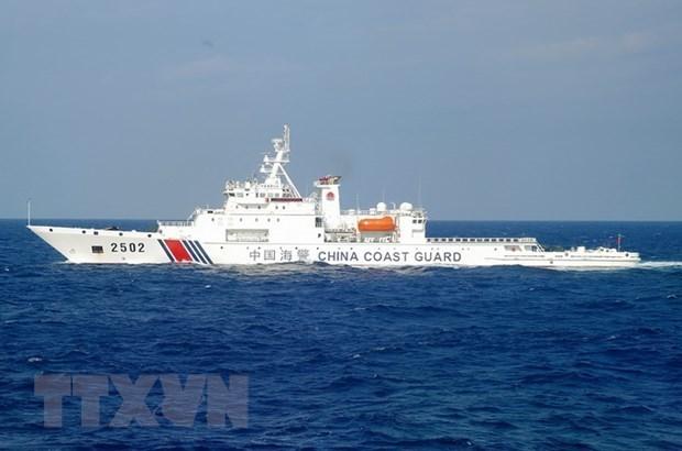 Les Etats-Unis protestent contre les exercices militaires chinois en Mer Orientale hinh anh 1