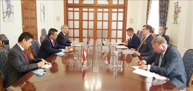 L'Ukraine et l'ASEAN renforcent leur cooperation dans plusieurs domaines hinh anh 1