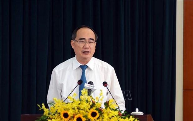 Ho Chi Minh-Ville s'efforce d'achever les travaux concernant les investissements publics hinh anh 1