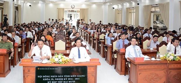 Kien Giang : mise en œuvre des mesures pour relancer l'economie hinh anh 1